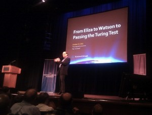 Ray Kurzweil – From Eliza to Watson to Passing the Turing Test