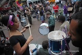 New generation of music central to protest @occupy wall street