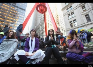 Occupy Flash Meditation Occupy Buddha: Reflections on Occupy Wall Street