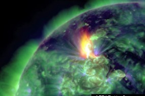 Powerful Magnetic Storm Could Hit Flights And Power Grids