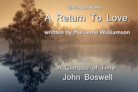 Marianne Williamson - A Return To Love; Spirit