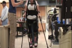 Paraplegics Walk With Exoskeleton – Exclusive Video of Berkeley Bionic's eLegs in Action
