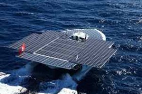 Around the World Without a Drop Of Gasoline – Solar-Powered Catamaran Nears End Of More Than Two Years At Sea ; Tech