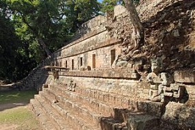 Copán is an archaeological site of the Maya civilization located in the Copán Department of western Honduras, not far from the border with Guatemala, Maya