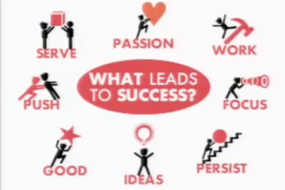 Richard St. John: Secrets of success in 8 words, 3 minutes; TED