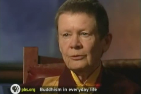 Bill Moyers on Faith and Reason With Pema Chodron - Part 4; spirit