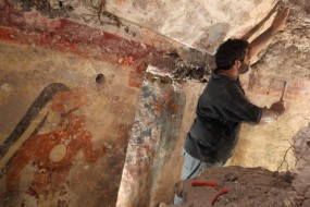 Painted Maya Walls Reveal Calendar Writing