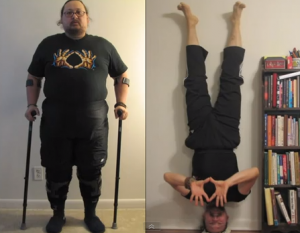 Never, Ever Give Up. Arthur's Inspirational Transformation! Health