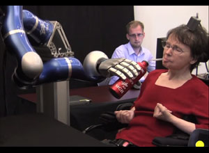 Paralyzed Woman Controls Robotic Arm With Her Thoughts