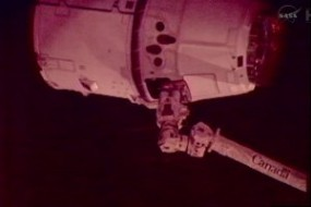 Dragon Capsule, SpaceX Spacecraft, Set To Dock With ISS