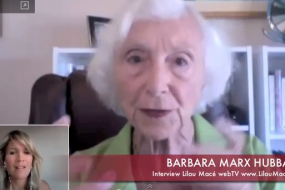 Universal Beings & Evolution - Barbara Marx Hubbard ( part 1/3); consciousnes