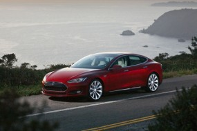 Telsa Model S Arrives With Big Hopes Riding On It