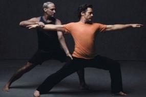 Robert Downey Jr Gets His Yoga On!