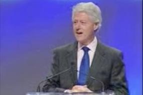 Clinton's opinion of Tony Robbins Community