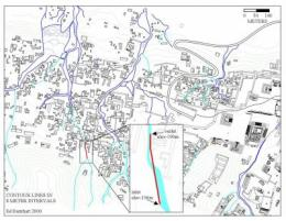 This is a site map of the Maya city of Palenque in Mexico. The inset shows the area around the Piedras Bolas aqueduct. Credit: Ed Barnhart   Read more at: http://phys.org/news192206977.html#jCp
