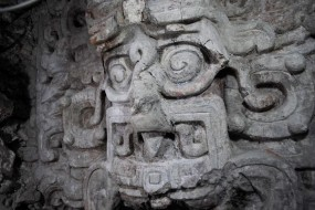 """""""Dramatic"""" New Maya Temple Found, Covered With Giant Faces"""