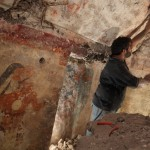 Archaeologist William Saturno of Boston University carefully uncovers art and writings left by the Maya some 1,200 years ago. Mayan