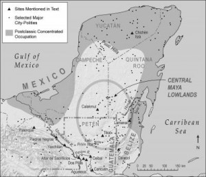 Multiple factors, including climate change, helped led to collapse and depopulation of ancient Maya