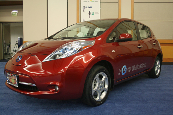 2013 Nissan Leaf Edges Even Closer To Production In Smyrna, TN
