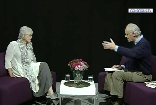 Author Byron Katie 'The Story Of The ONE' Interview by Iain McNay