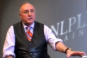 NLP - Richard Bandler - Neuro linguistic programming.