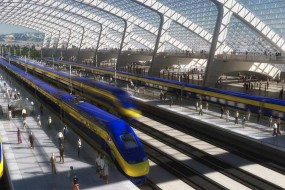 Can high speed rail compete with self-driven cars and all the technology of the future?