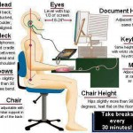 Ten Tips for Improving Posture and Ergonomics
