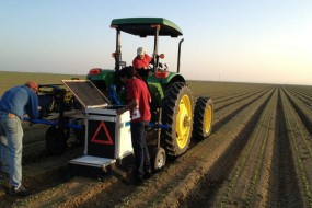 """Lettuce Bot"" Rolls Through Crops, Terminates Weeds It Visually Identifies"