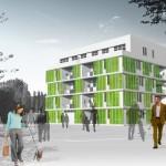 In Germany, A Micro-Algae Facade Will Power A Net Zero House