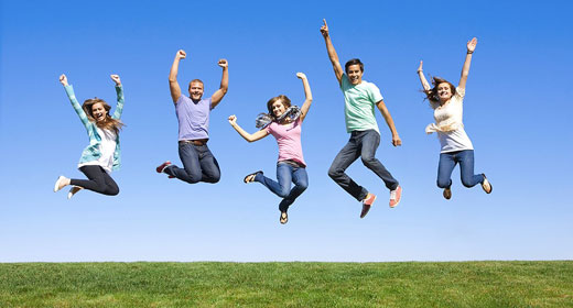 Fun-Group-of-Young-People-Jump-awaken