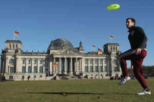 Tossing a Frisbee? Likewise