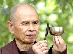 Thich Nhat Hanh-Nhat Hanh was born in in 1926 in Central Vietnam. He joined the monastery at age 16, received training in Zen and the Mahayana School of Buddhism and was ordained as a monk in 1949. He was appointed Editor in Chief of Vietnamese Buddhism in 1956 and later founded the La Boi Press, the Van Hanh Buddhist University in Saigon and the School of Youth for Social Services.