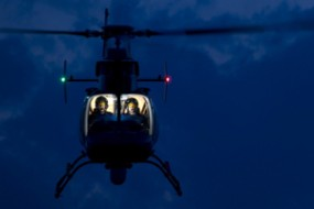 TRADERS EMPLOY CHOPPERS, SATELLITES, AND INFRARED TELEPHOTO LENSES TO GAUGE FOOD, OIL SUPPLY