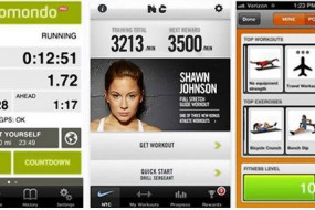 IPhone, iPad and Android apps can help you boost your fitness level. Reviewed: Yoga With Janet Stone, Endomondo Pro, Nike Training Club, Zombies, Run!, Fleetly.