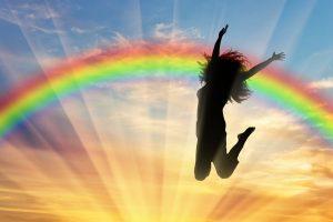 Rainbow-jump-awaken