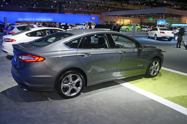 Ford Fusion Named the Green Car Of The Year 2013