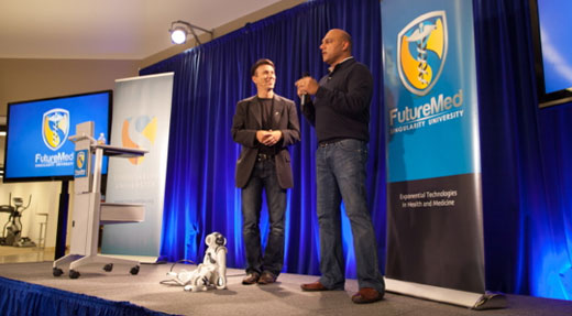 FUTUREMED 2013 KICKS OFF AT SINGULARITY UNIVERSITY WITH HUGE DEMAND, ENTHUSIASM