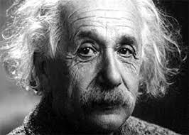 Albert Einstein awaken