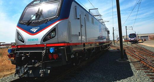 Shiny New Locomotives – Fast, Too – For Amtrak
