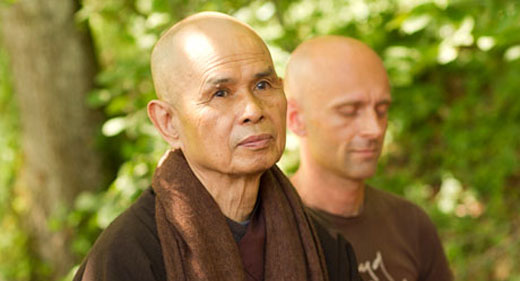 Thich Nhat Hanh Shows Us How Eating Mindfully Can Nourish