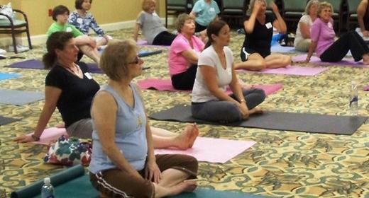 Yoga before Hanukkah