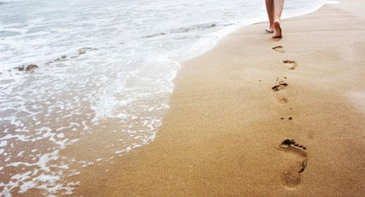 foot-prints-on-the-beach-Awaken
