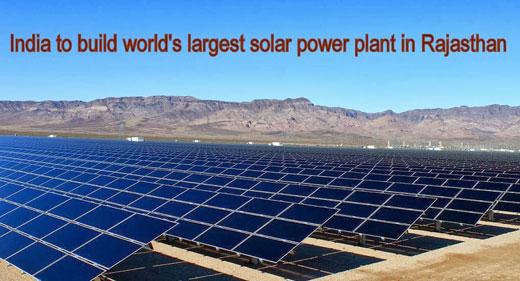 India to Build World's Largest Solar Power Plant | Awaken