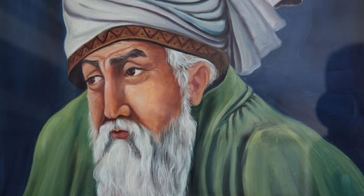 Rumi Painting-Awaken