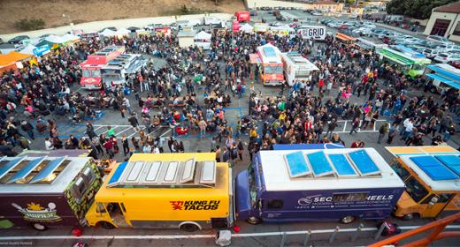 The Food Truck Bazaar
