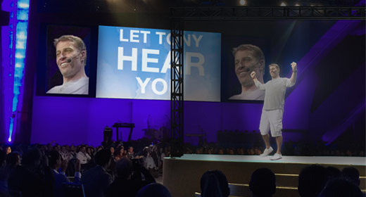 Legendary Success Coach Tony Robbins To Appear As A