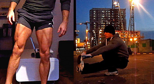 How to get big legs without weights