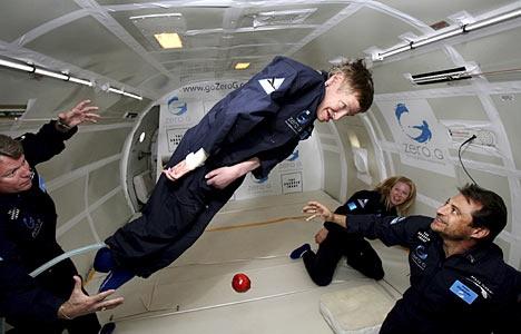 Stephen Hawking In Zero-G | Awaken