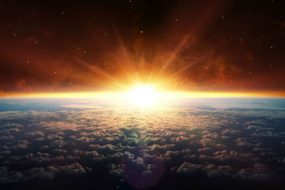 Earth-sunrise-from-space-NASA-satellite-image-awaken