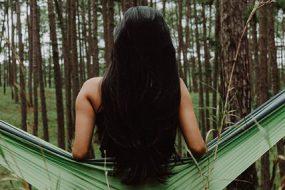 hammock woman-awaken